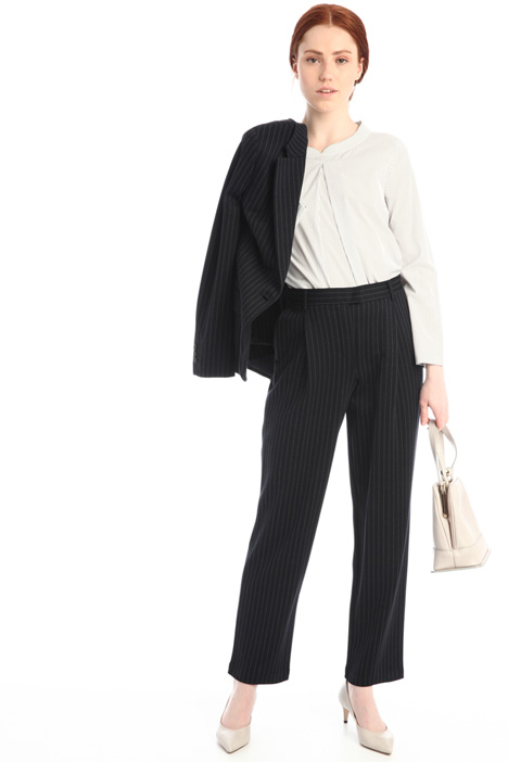Pinstriped trousers Intrend
