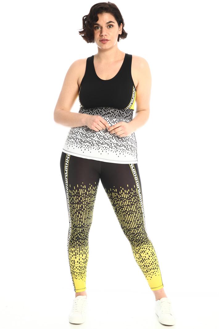 Printed tech leggings  Intrend