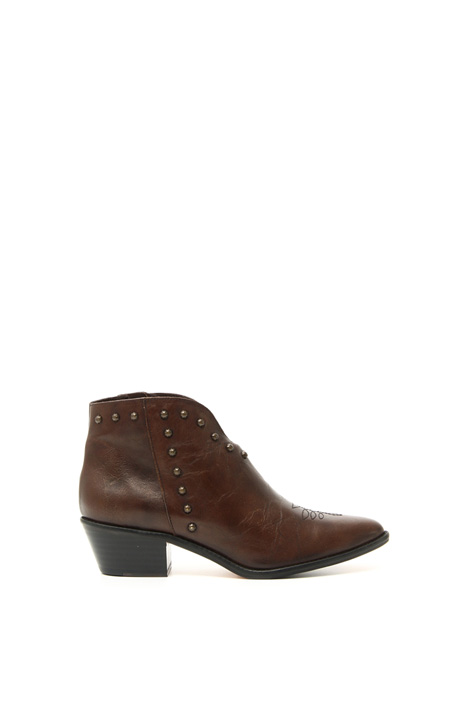 Texan leather ankle boots Intrend