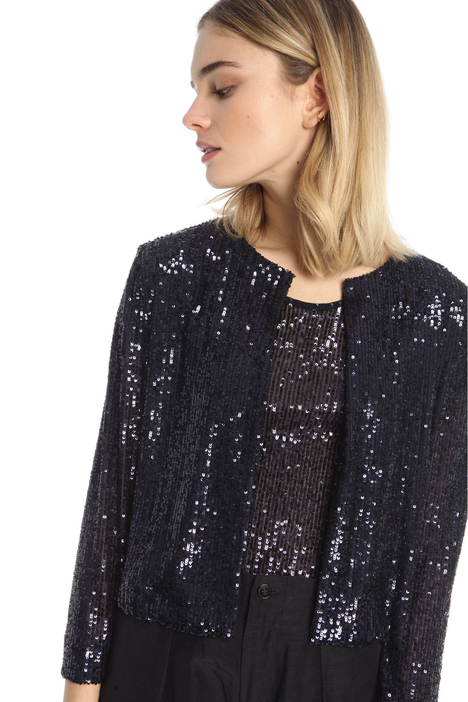 Short sequin jacket Intrend
