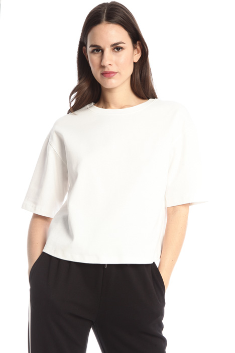 T-shirt boxy in jersey  Intrend