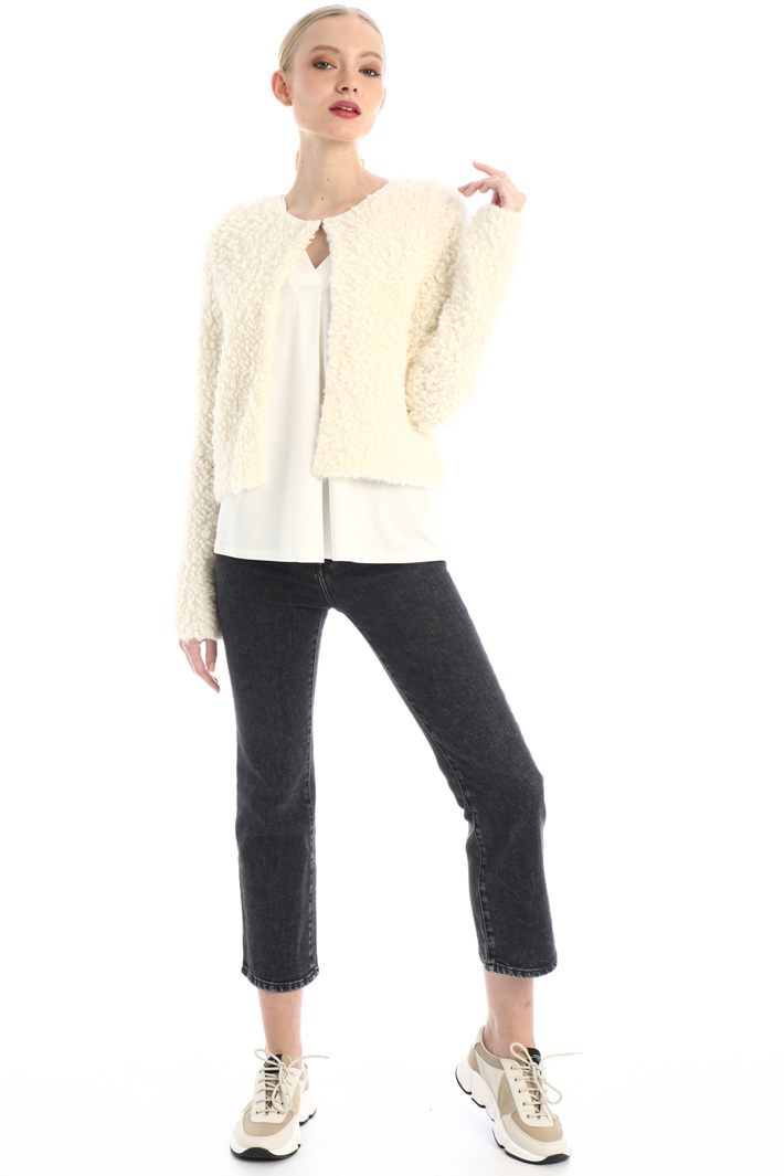 Cotton jersey top Intrend