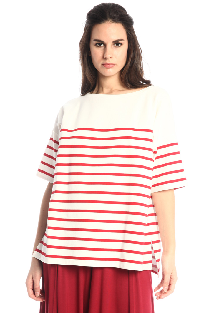Double jersey T-shirt Intrend