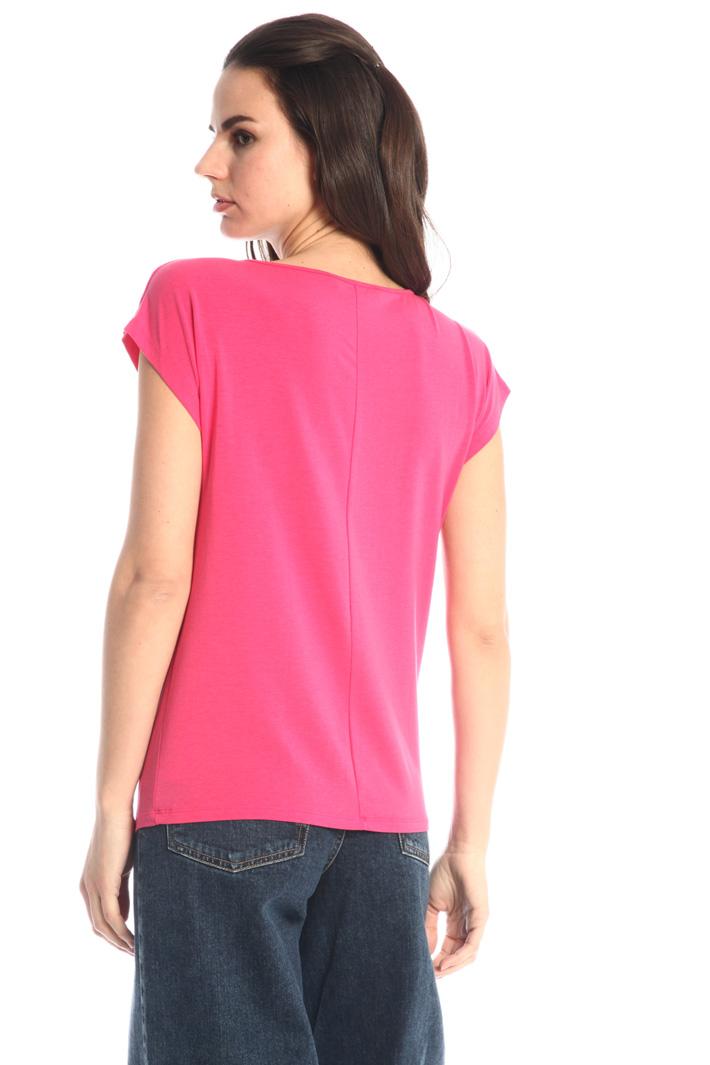 Stretch cotton jersey T-shirt Intrend