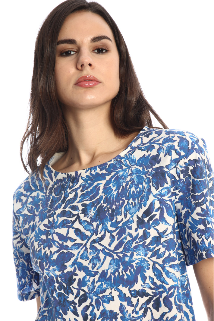 Jersey and poplin T-shirt Intrend