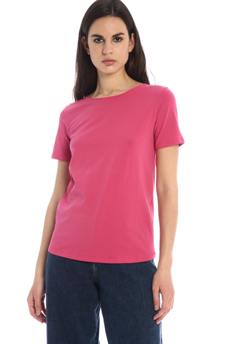T-shirt basic in jersey Intrend