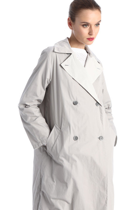 Water resistant twill trench Intrend