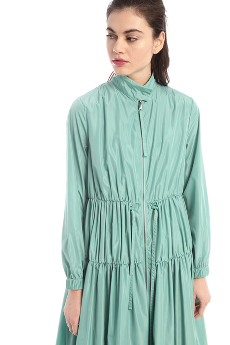 Draped duster coat  Intrend