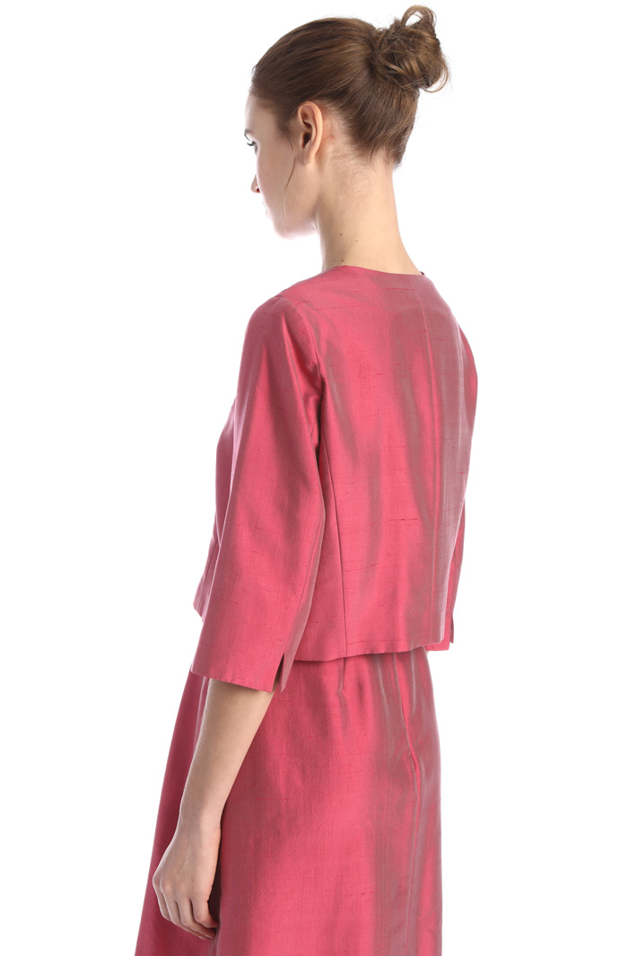 Silk shantung jacket Intrend