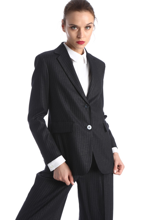 Pinstriped wool blazer Intrend