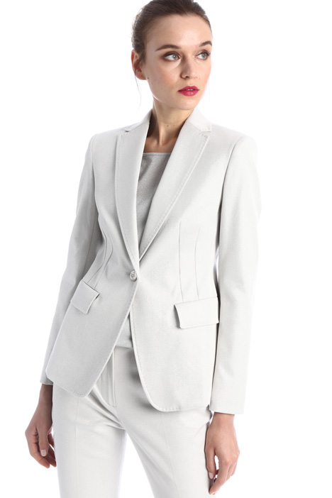 Lamé cotton blazer Intrend