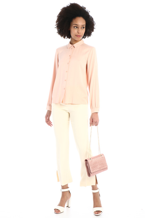 Flowing twill shirt Intrend