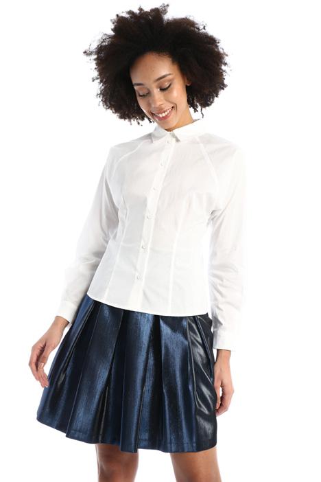Slim-fit poplin shirt  Intrend