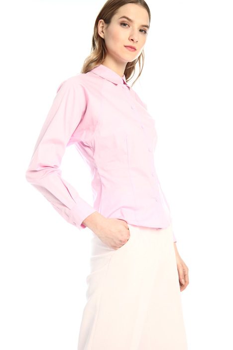 Slim-fit poplin shirt  Intrend