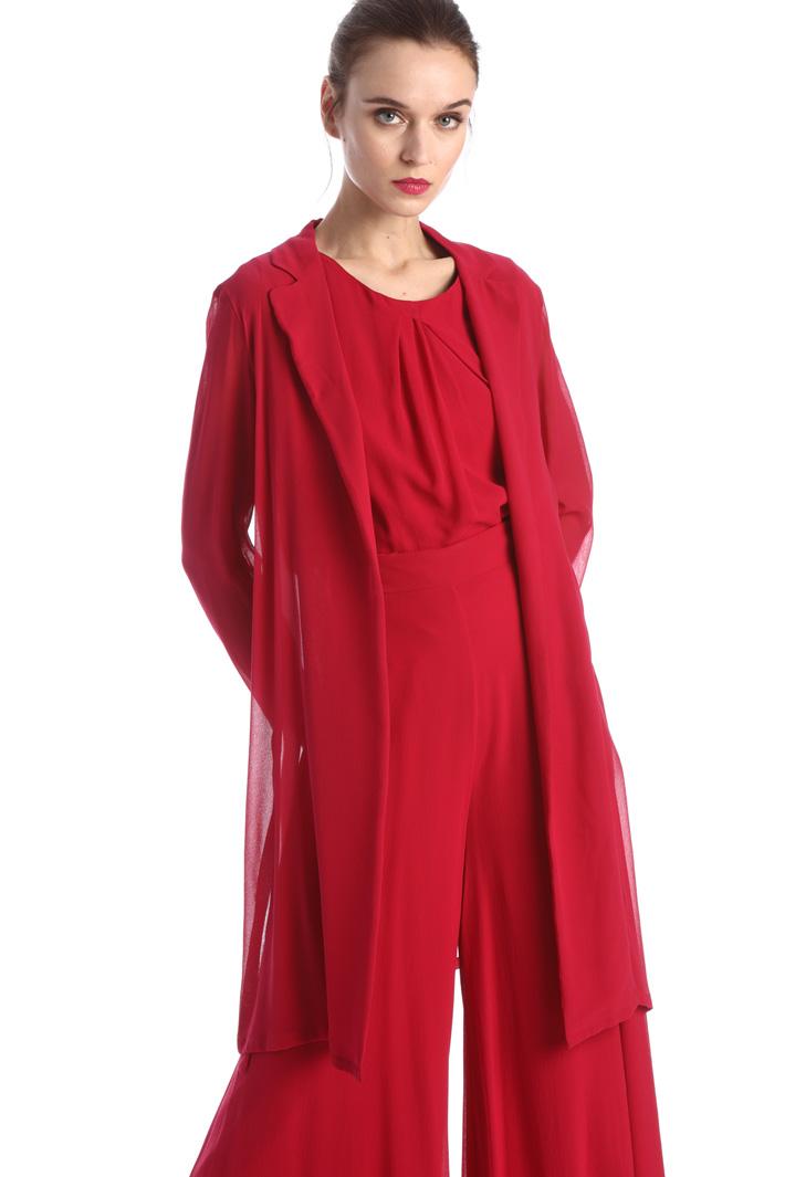 Georgette duster coat  Intrend