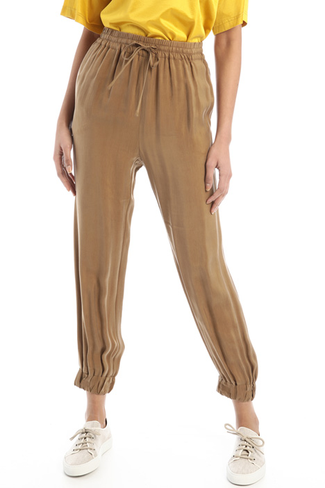 Twill jogging-style trousers Intrend