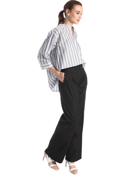Cotton poplin trousers Intrend