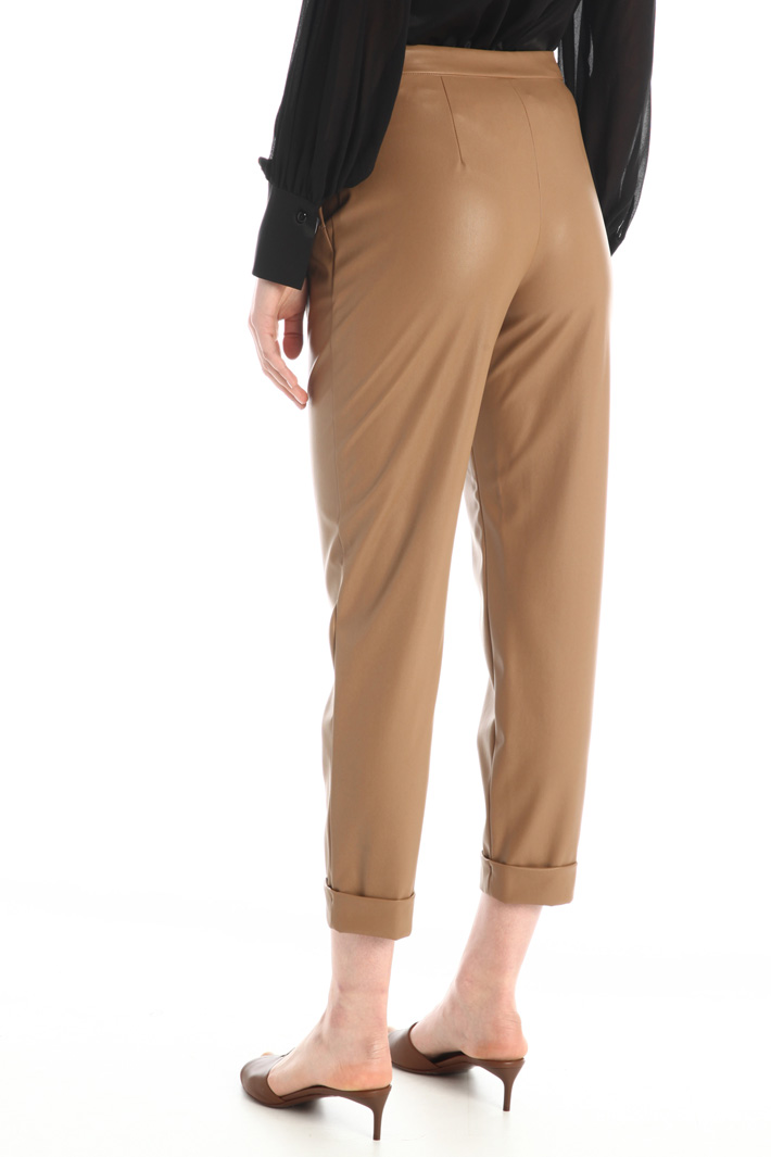Faux leather trousers Intrend