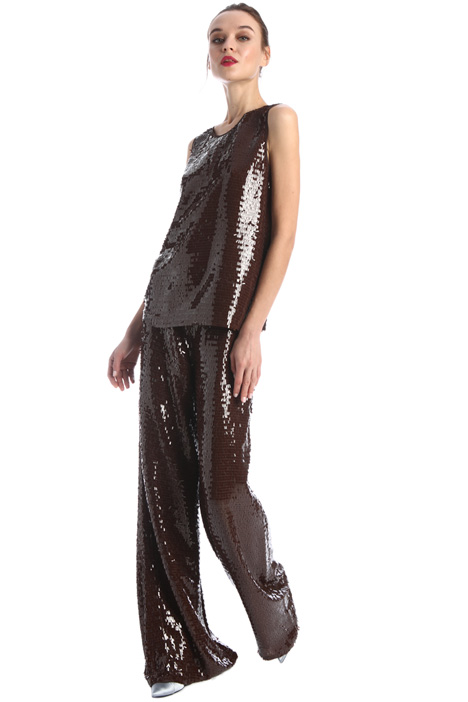 Sequin trousers Intrend