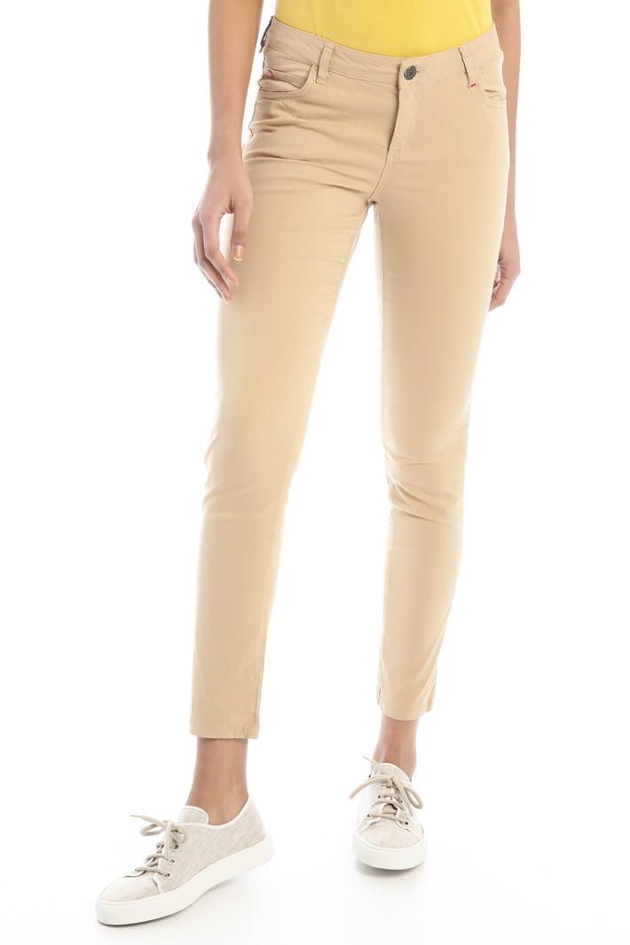 Skinny gabardine trousers  Intrend