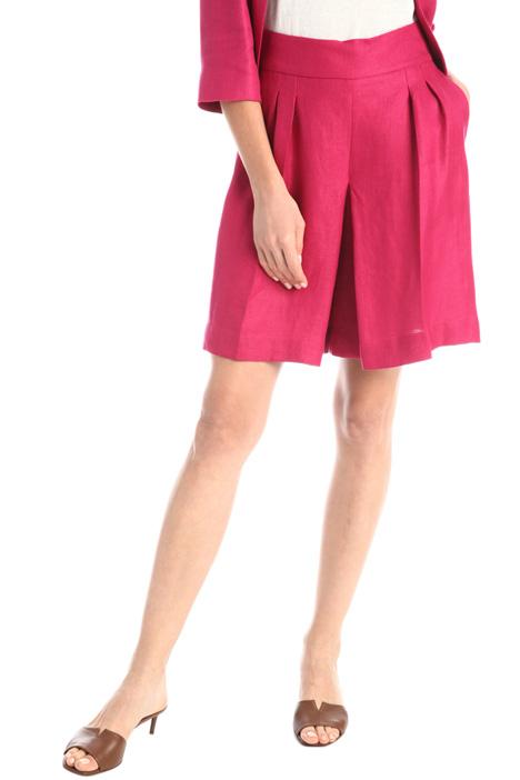 Linen twill shorts Intrend