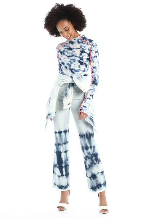 Tie-dye jeans Intrend