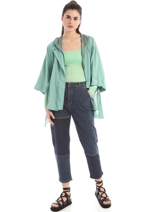 Jeans patchwork in denim Intrend