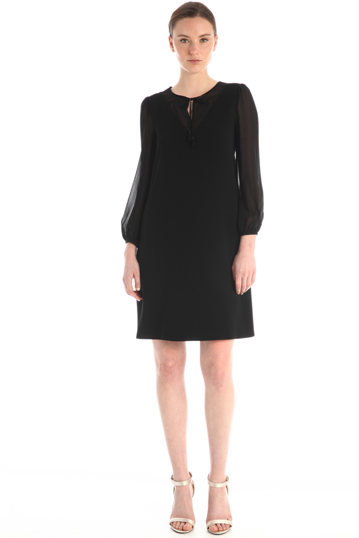 Cady and silk dress Intrend