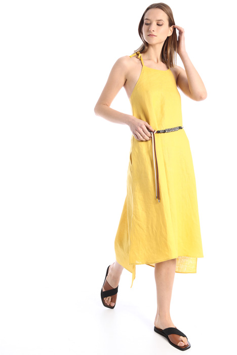 Flared linen dress Intrend