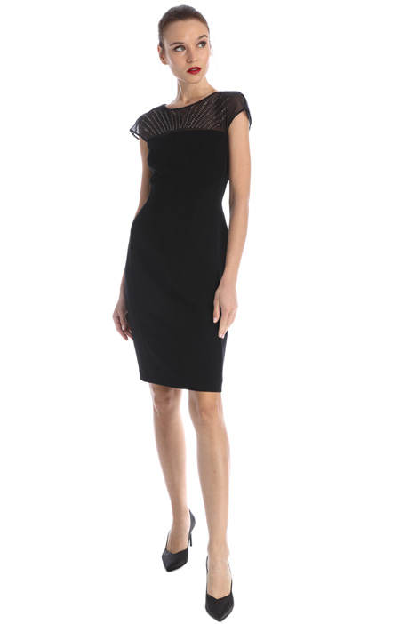Slim fit cady dress Intrend