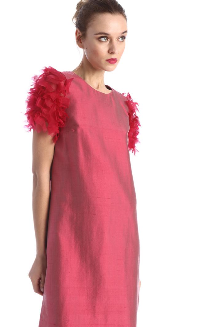 Organza sleeve dress Intrend