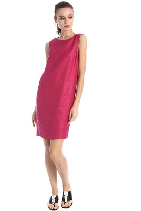 Linen twill dress Intrend