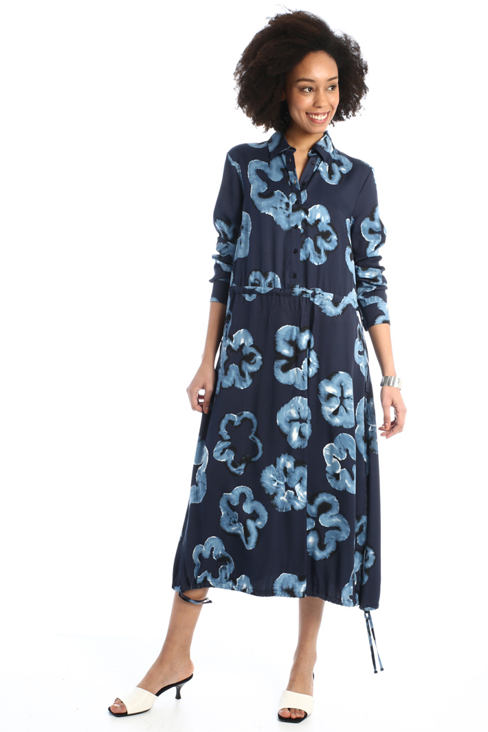 Printed shirt dress  Intrend