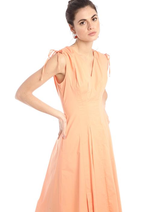 Midi poplin dress Intrend