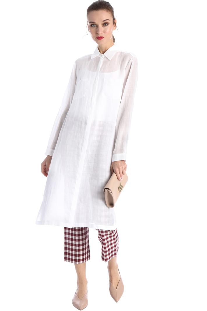 Ramie canvas dress Intrend