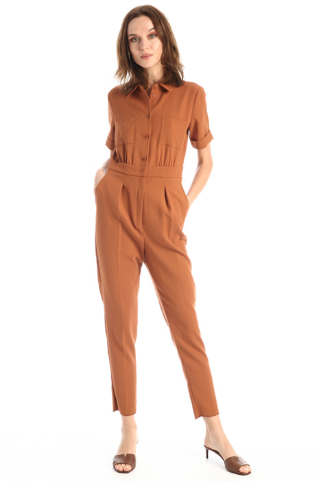 Double cotton jumpsuit Intrend