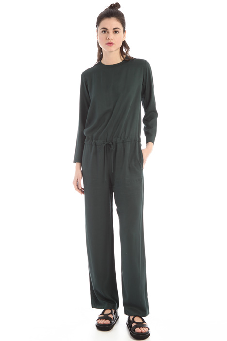 Fluid twill jumpsuit  Intrend
