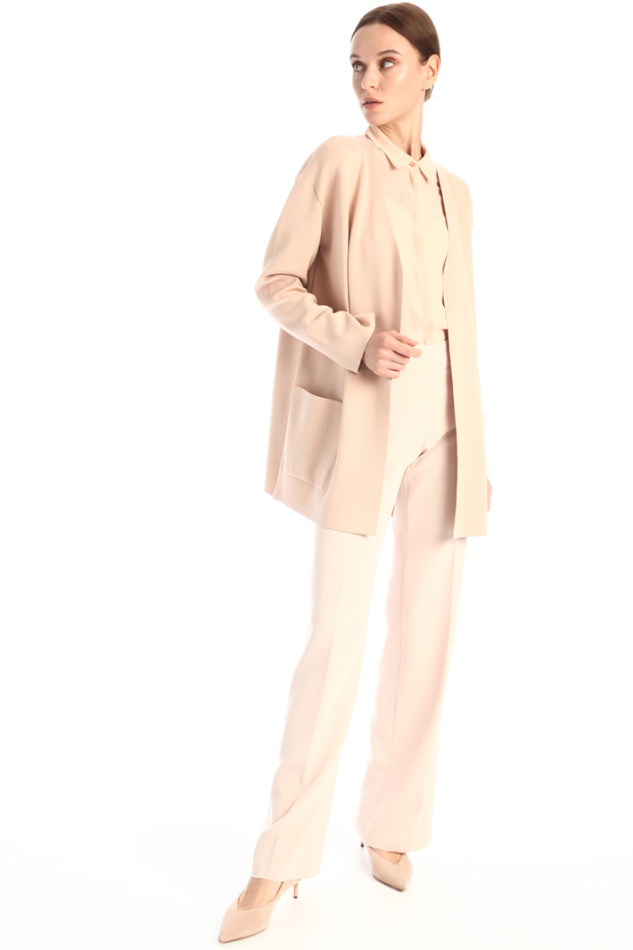 Jersey duster coat Intrend