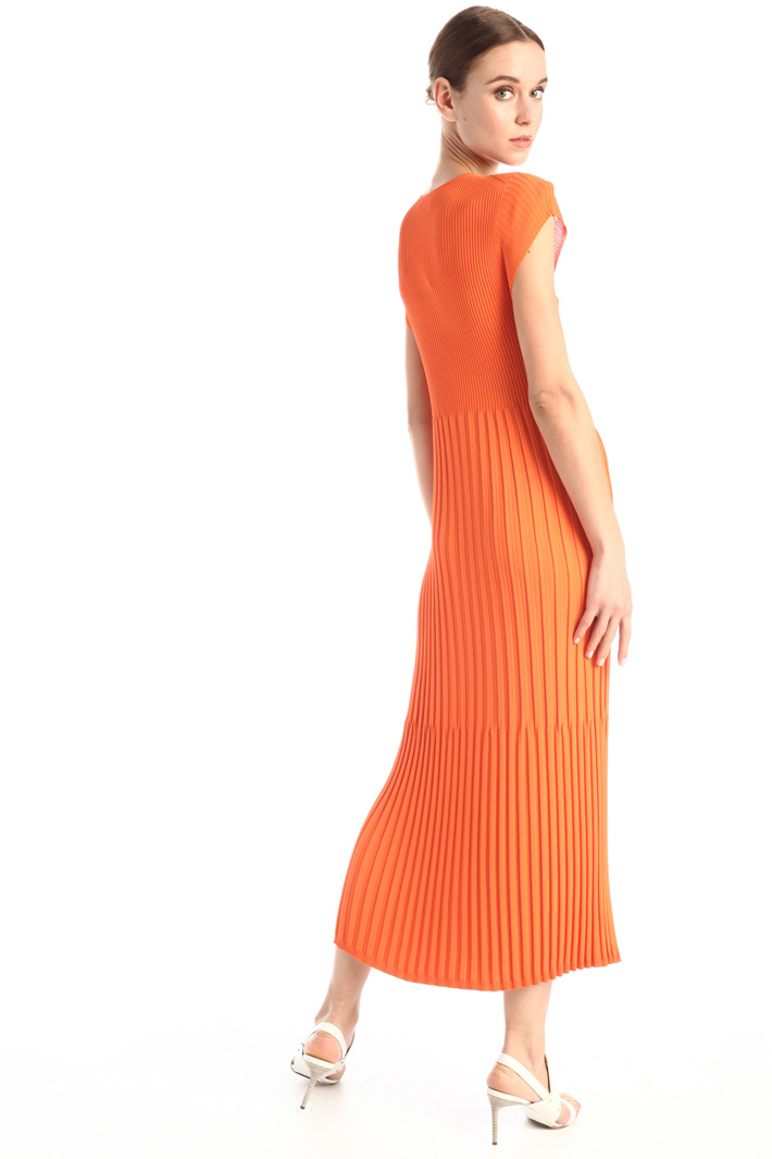 Ribbed knit dress Intrend