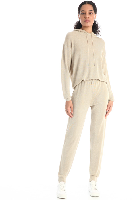 Trousers in viscose yarn Intrend