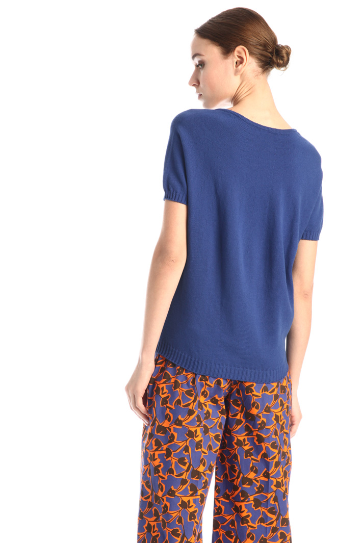 Short-sleeved sweater Intrend