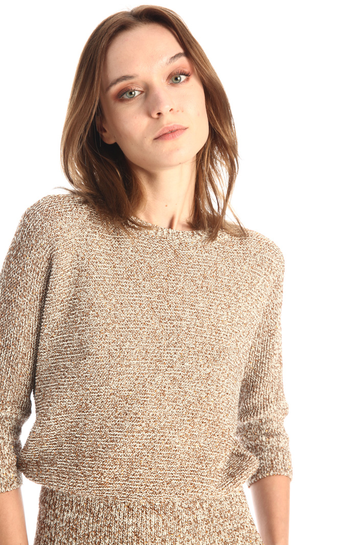 Sequinned sweater Intrend