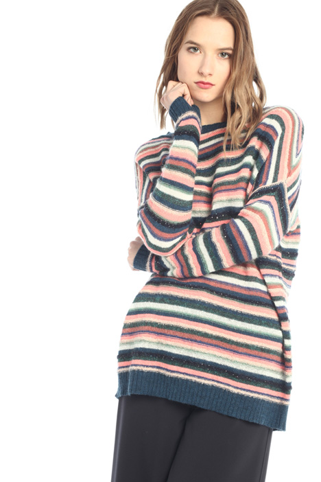 Loose fit alpaca blend sweater Intrend
