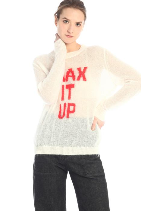 Wool intarsia sweater  Intrend