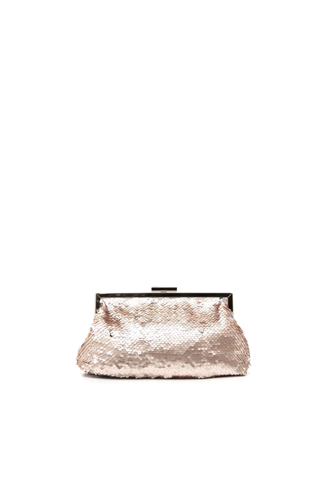 Sequinned clutch bag Intrend