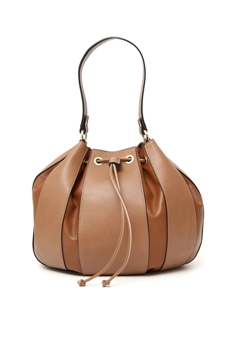 Faux leather bucket bag Intrend
