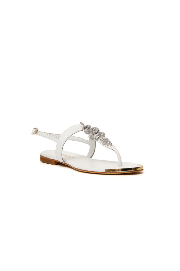 Rhinestone sandals Intrend
