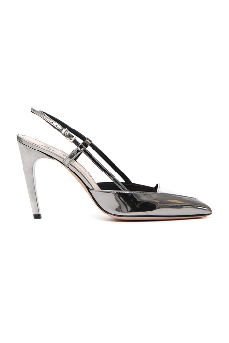 Mirror effect slingback Intrend