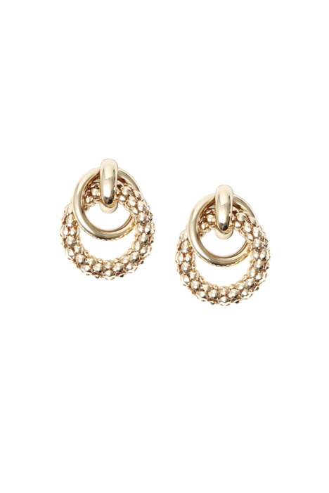 Round earrings Intrend