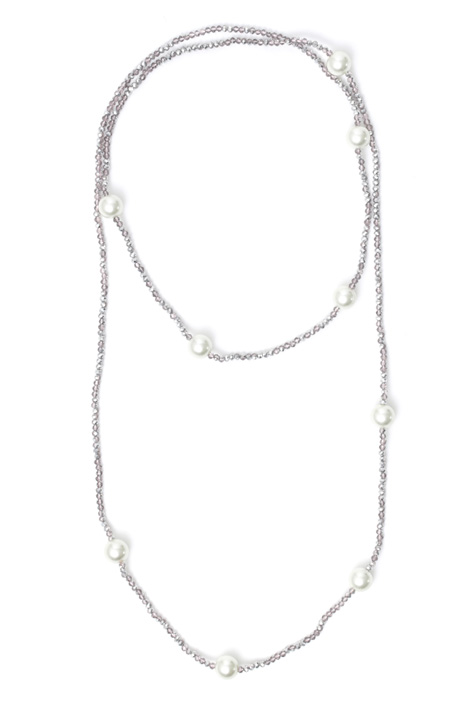 Long glass necklace Intrend